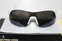 Under Armour Marbella Shield Sunglasses Satin Pearl /gray Multiflection Lens
