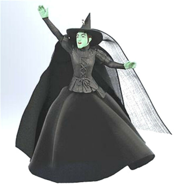 Hallmark 2011 Wicked Witch of the West  Wizard of Oz Ornament