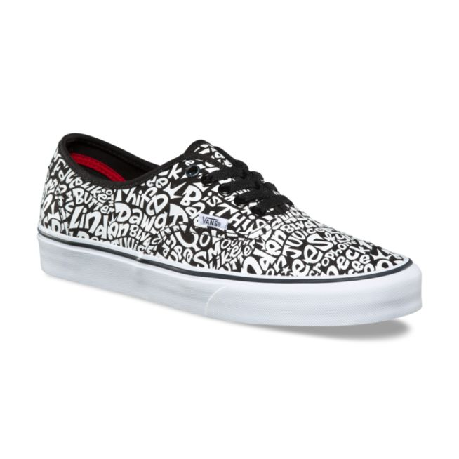 VANS x A TRIBE CALLED QUEST Mens schuhe (NEW) Tracklist Authentic ATCQ Free Ship