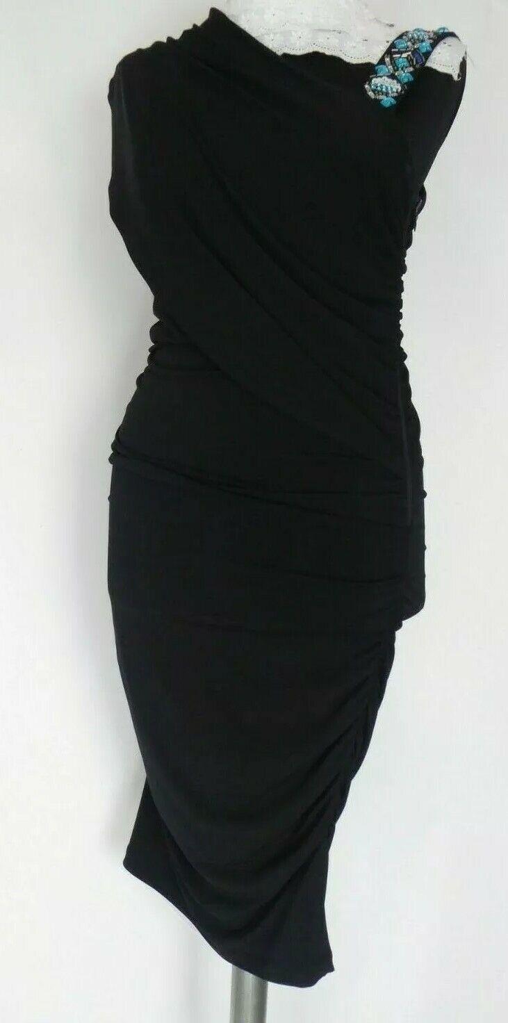 marciano guess damen kleid gr, 36 in schwarz   ebay