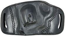 """3/"""" 4/"""" 5/"""" 6/"""" 1911 Tagua LEFT HAND OWB Yaqui Slide Belt Holster Black Leather"""