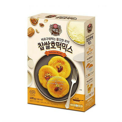 Korean Food Traditional HOTTEOK Sweet Pancake Mix 400g  &  Hotteok Press