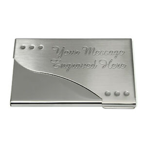 Engraved business card holder personalised company gift bespoke image is loading engraved business card holder personalised company gift bespoke colourmoves