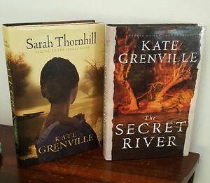 Kate-Grenville-The-Secret-River-amp-Sarah-Thornhill-sequel-1st-Ed-HB-VG