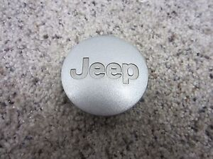 Jeep Grand Cherokee Wrangler Liberty Center Cap Dark Gray 52090401AB 5HT59TRMAB