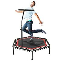 Mini Trampoline Fitness Exercise Fitness Gym Rebounder Cardio Trainer Jump 44t