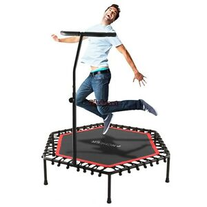 mini trampoline fitness exercise fitness gym rebounder cardio