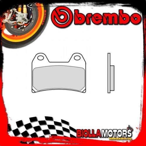 07BB19SA PASTIGLIE FRENO ANTERIORE BREMBO HUSQVARNA NUDA ABS 2012-900CC SA - R