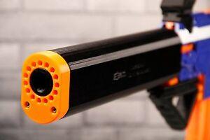Image is loading 3D-Printed-Taktisch-Design-Suppressor-Silencer-for-Nerf-