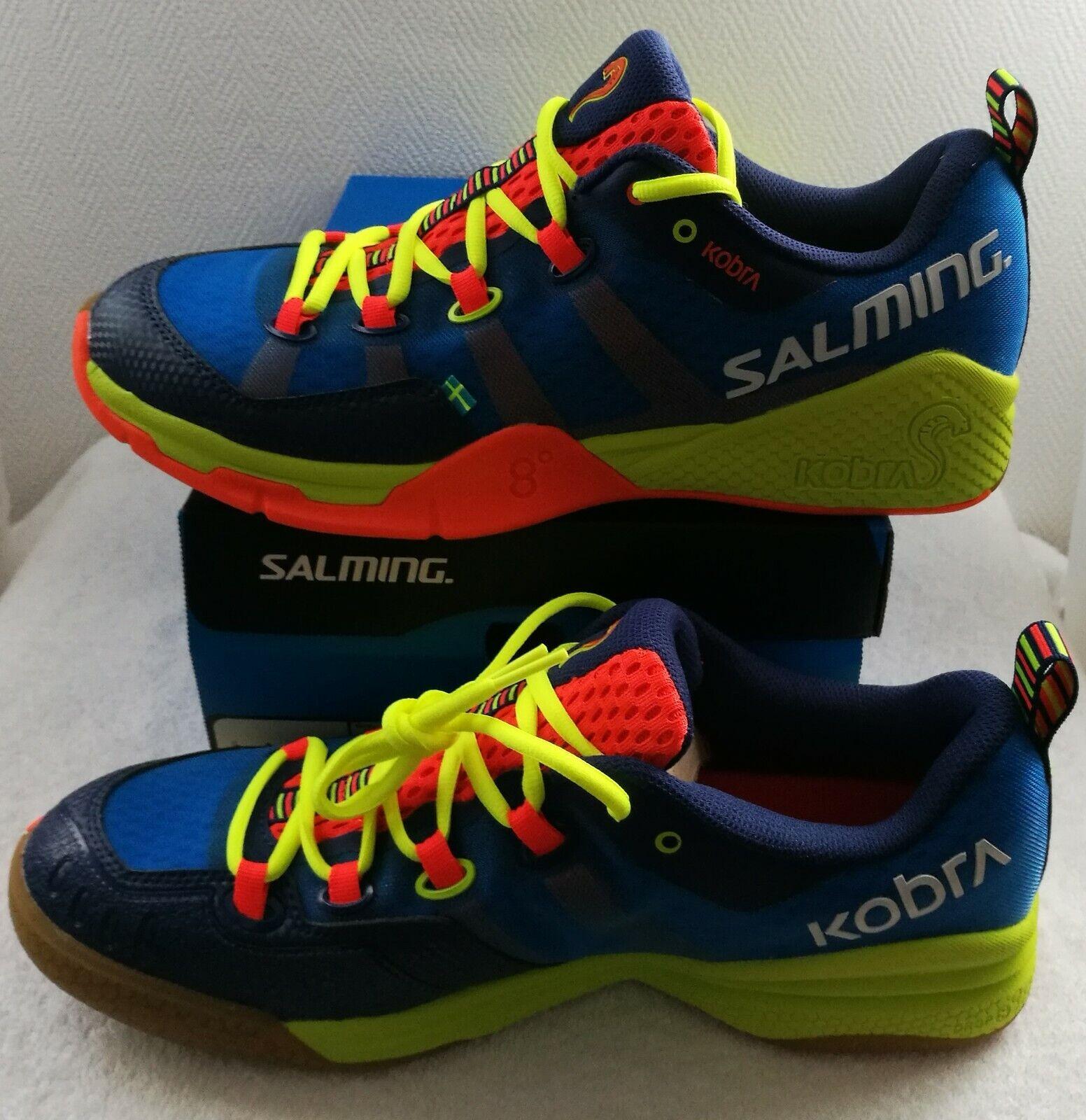 Salming Handball Schuhe Sport Hallenschuhe Kobra 1237080-0309  Gr.41-48 NEU