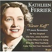 Klever Kaff, Kathleen Ferrier, Very Good CD