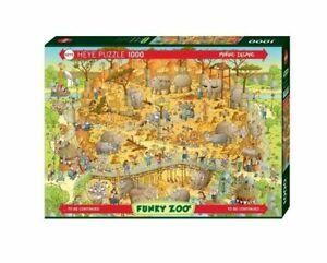 Heye Puzzles - 1000 Piece Jigsaw Puzzle - African Habitat HY29639