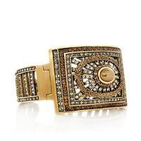 "Heidi Daus ""effortless Elegance"" Cuff Bracelet Medium/large"