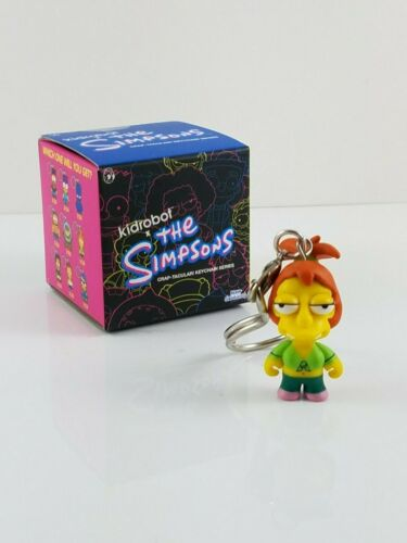 Keychain Series Brandine Spuckler The Simpsons CRAP-TACULAR Zipper Pull