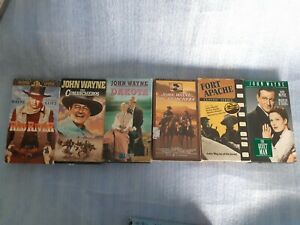 Lote-of-5-vhs-tapes-John-Wayne-a
