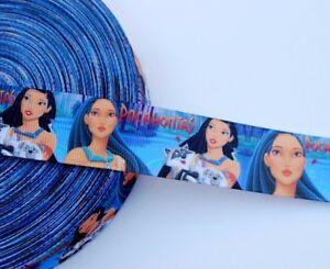Pocahontas-1-034-Grosgrain-Ribbon-Pocahontas-Hair-Bow-Ribbon-By-The-Yard