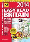 AA Easy Read Britain: 2014 by AA Publishing (Paperback, 2013)