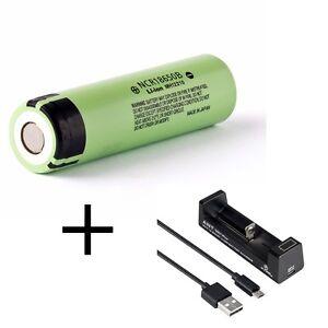 Panasonic-Li-Ion-piles-ncr-18650b-3400-mAh-3-6-V-Xtar-FOURMI-MC1-Plus-Chargeur