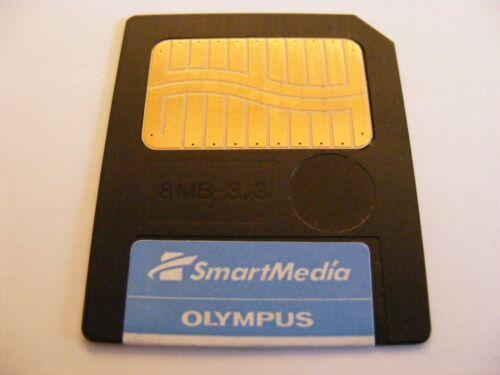 4mb//8mb//16mb//32mb SMART media card Olympus USATO SM mappa