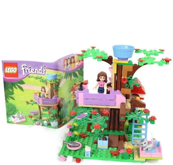 Friends Olivias Tree House Retired Instruction Manual 3065 Lego
