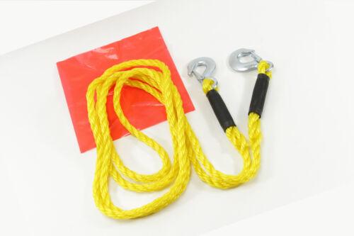 Câble de remorquage New 4 m 3000 kg voiture autoabschleppseil avec 2 crochets