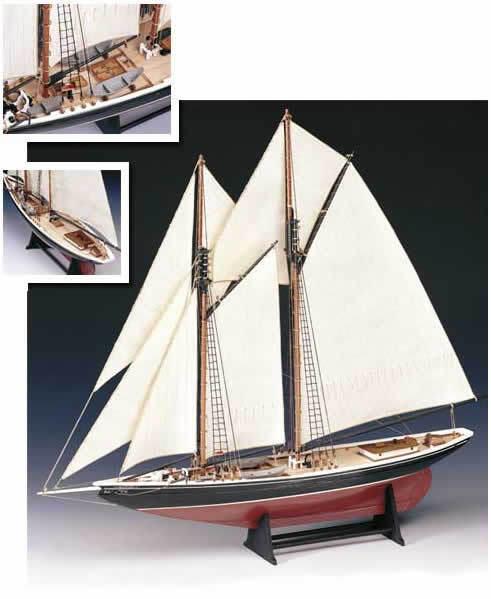 Amati blånes - Fishing Schooner 1921 (1447) modelllllerlerl båt Kit