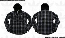 adidas Originals Snowboarding Men's 2014 Loomis Street Jacket(S)Grey/Blak G68310