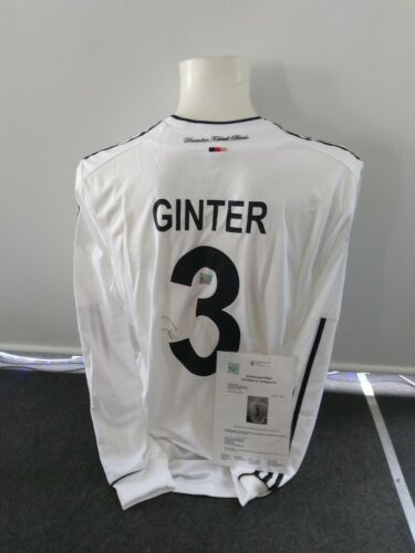 Deutschland Trikot, Authentic Version, Matthias Ginter signiert, DFB, XL