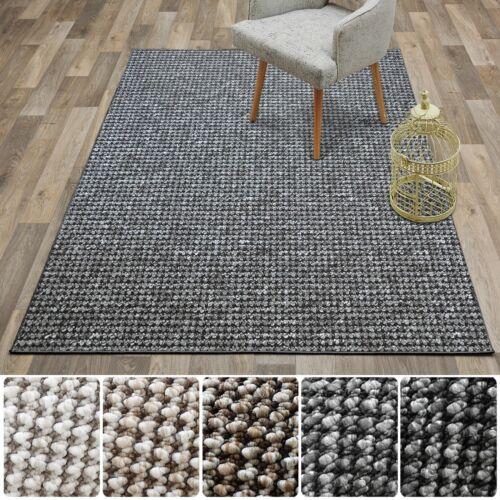 Casa Pura Teppich GrandeurGrauviele Größenflacher Schlingenflor Teppich