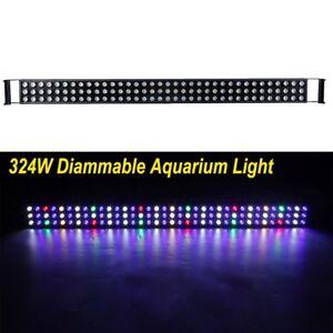 324w 48 inch led aquarium light bar full spectrum fish coral reef image is loading 324w 48 inch led aquarium light bar full aloadofball Gallery