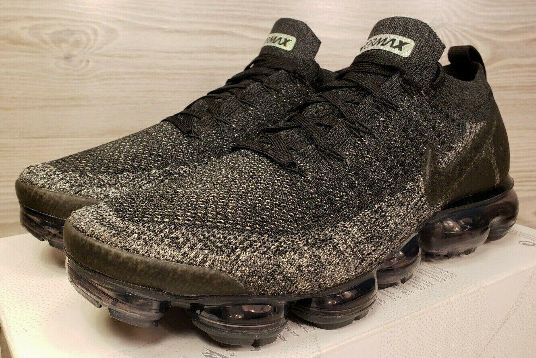 Nike Air Vapormax Flyknit 2 Dark Grey Black Metallic Copper 942842 012 Size 11.5