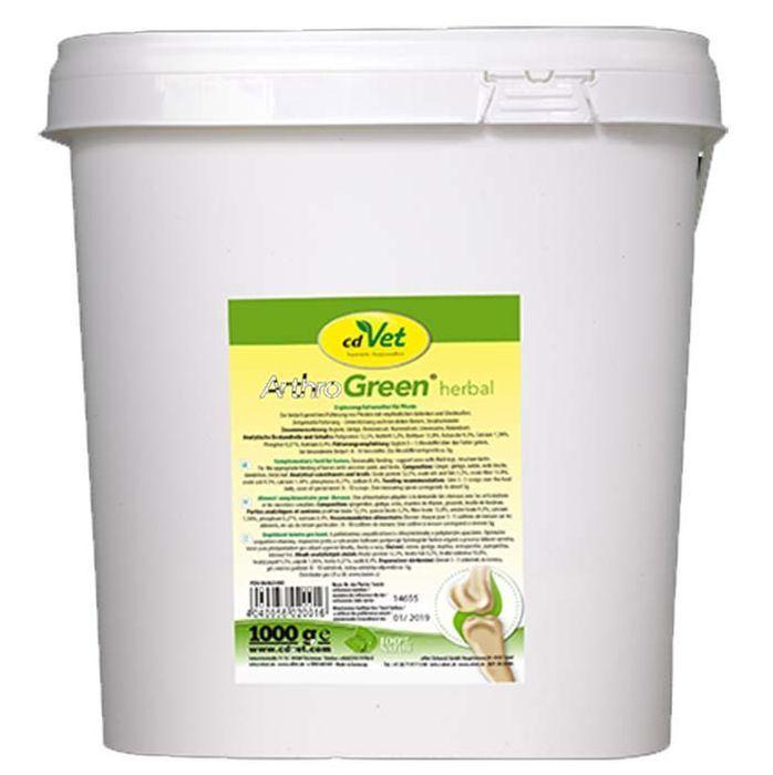 CdVet ArthroGrün herbal  1 kg Gelenk Gelenke Sehnen Belastung ( /1kg)