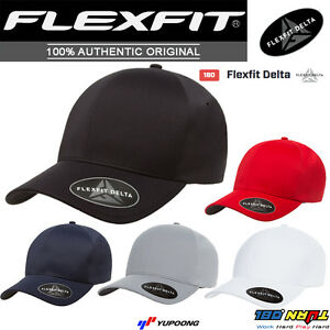 FLEXFIT-180-Delta-Tech-Premium-Baseball-Hat-Golf-Cap-3Layer-Sweatband-Moist-Wick