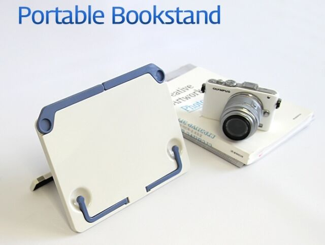 Actto Portable Folding Book Stand Reading Desk Documents Holder Bible Bookstand