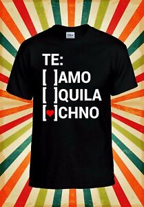 Teamo-Tequila-Techno-Love-Funny-Cool-Men-Women-Vest-Tank-Top-Unisex-T-Shirt-2186