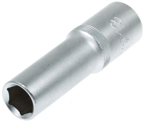 Steckschlüssel SW 13 mm 1//2 Zoll Werkzeug Kfz Stecknuß Außen Sechskant lang Nuss
