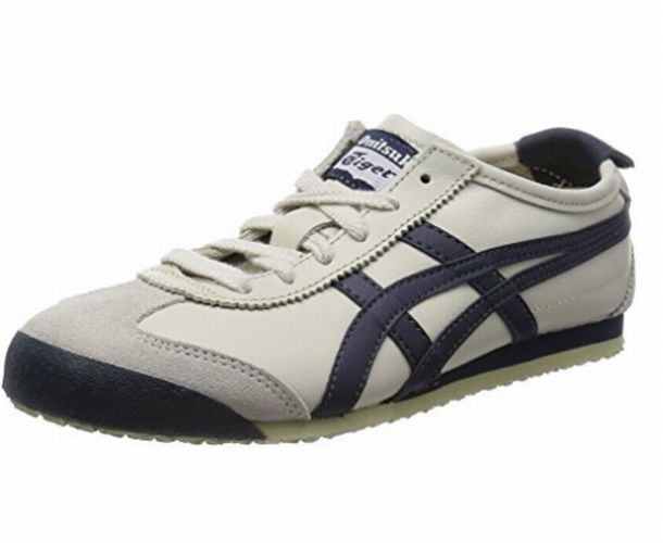 New Onitsuka Tiger Mexico 66 Birch x Indian ink Men's 10 THL202 Freeshipping