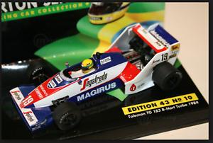 tienda en linea Toleman TG 183-B-Hart Turbo  A.Senna A.Senna A.Senna 1984 1 43 (EDITION 43 N°10) Minichamps  venta de ofertas
