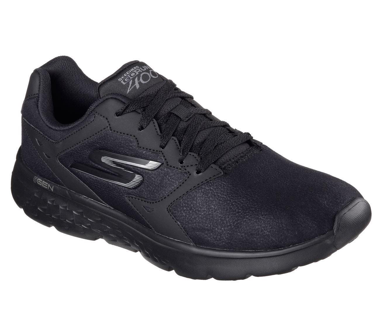 Skechers Hombre Gorun 400 - accellerate Zapatillas running black,size