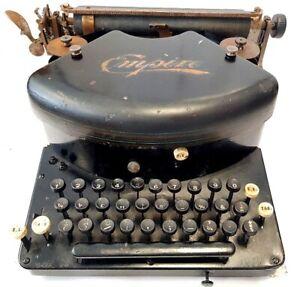 Antigua-maquina-de-escribir-EMPIRE-n-2-Schreibmaschine-rare-typewriter-1907