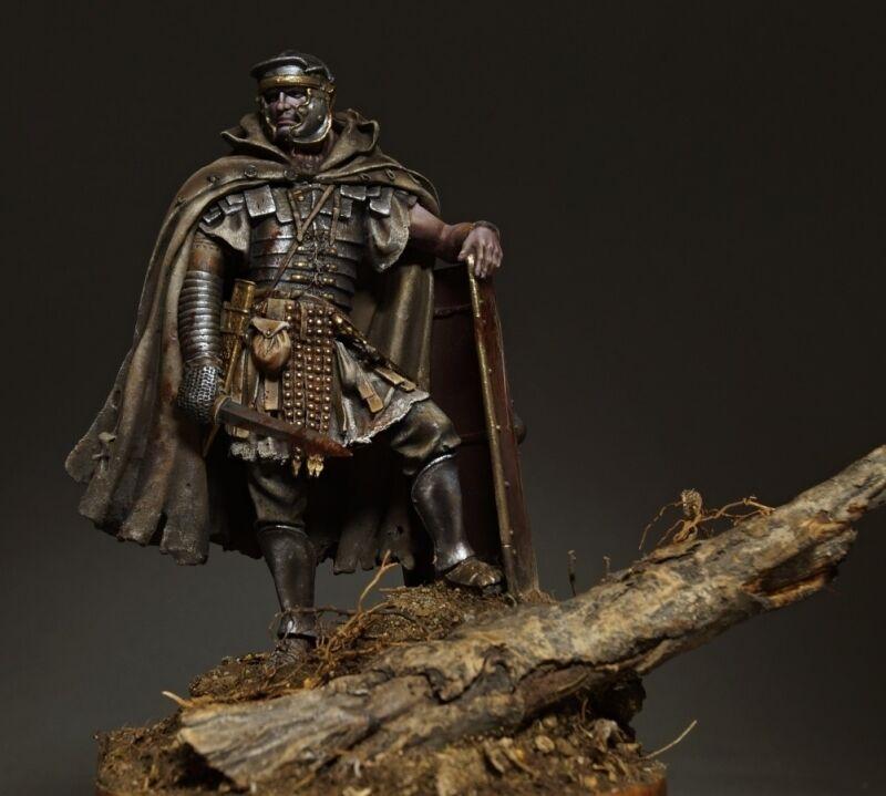 Tin soldier, museum, Rome soldier, Roman Legionary Dacian Wars, 90 mm