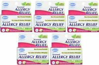 5 Pack Hyland's Seasonal Allergy Relief, Non Drowsy, 60 Tablets Each = 300 on sale