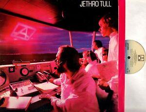 JETHRO-TULL-a-early-uk-press-amp-lyric-inner-LP-VG-EX-CDL-1301-prog-rock-1980