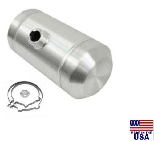 TRACTOR PULL 1//4 NPT 3.75 Gallons 10X12 Center Fill Spun Aluminum Gas Tank