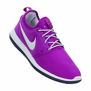 more photos a8ee4 c3925 Image is loading NIKE-ROSHE-TWO-GS-GIRL-039-S-TRAINERS-
