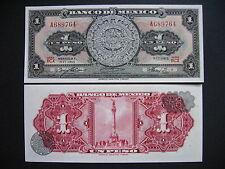 MEXICO  1 Peso 9.6.1965 Serie BCX  (P59i)  UNC