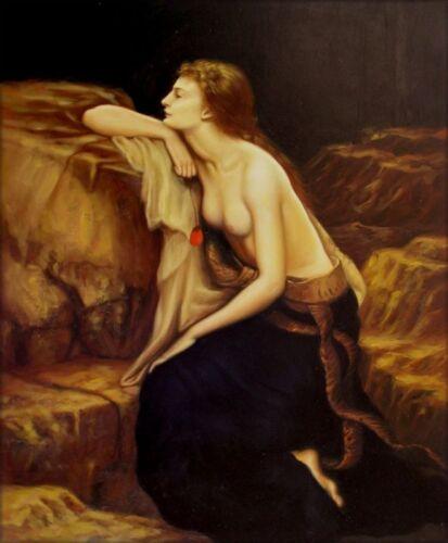 Quality Hand Painted Oil Painting Repro Herbert Draper Lamia ...