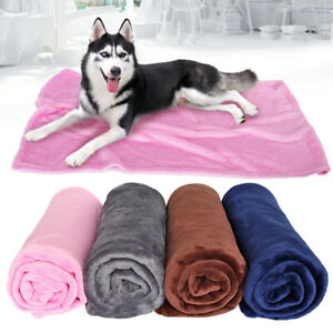 Soft-Fleece-Pet-Blanket-Cozy-Dog-Cat-Washable-Car-Sofa-Throw-Bed-Cushion-Cover