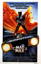 "MAD MAX Movie Poster [Licensed-New-USA] 27x40"" Theater Size (1979) Mel Gibson UK"