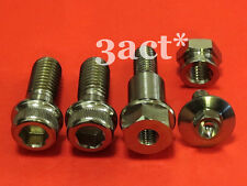 5 pcs set Titanium / Ti Stand & Pivot Bolts & Nut for Ducati Superbike 848, 1198